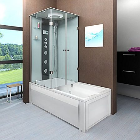 Duschtempel online ansehen | Badewanne mit Duschkabine online kaufen