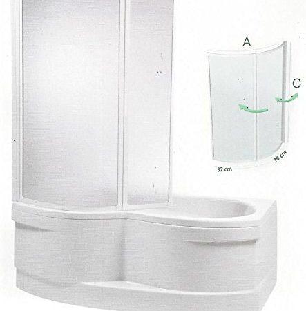 Duschbadewanne   Badewanne mit Duschtrennwand   Badewanne mit Duschverkleidung   Badewanne mit Duschwand