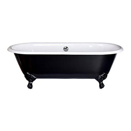 schwarze freistehende Badewanne | badewanne freistehend |