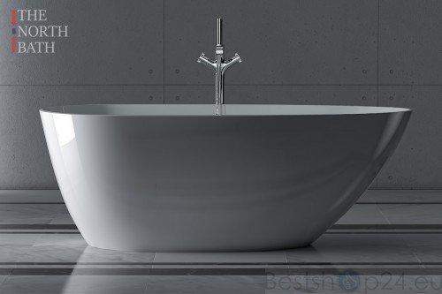 Freistehende Badewanne The North Bath Loki 130x70 150x75 170x80