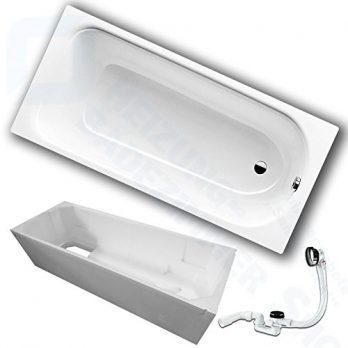 Stahlwanne | Stahl Badewanne | Badewanne aus Stahl | Stahlwanne mit Wannenträger
