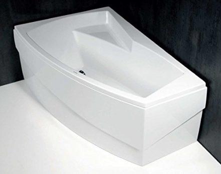 Raumsparbadewanne   badewanne 160x100 cm