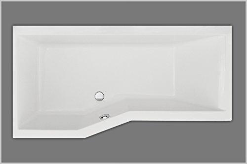 Raumsparbadewanne   badewanne 170x85 cm