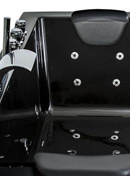 schwarze Whirlpool badewanne | schwarze badewanne | badewanne 200x80 schwarz