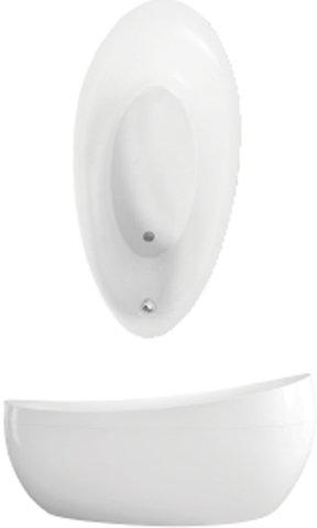 Villeroy & Boch Badewanne PD Spezielle Form Aveo 190x95cm weiß (alpin),  UBQ194AVE9PDV01