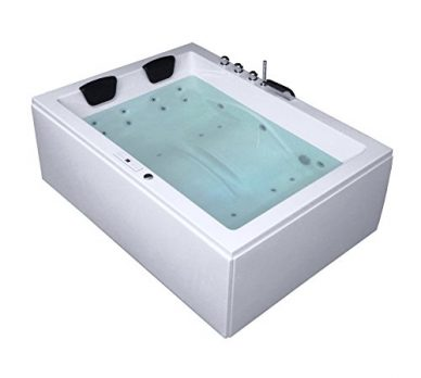 Badewanne für 2 Personen | 2 Personen Badewanne | Whirlpool Badewanne | Whirlpool Badewanne für 2 Personen | 2 Personen Badewanne mit Whirlpool