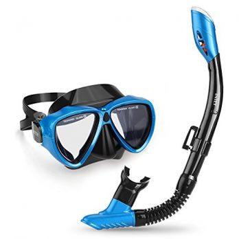 Schnorchelset | Schnorchelset für erwachsene | taucherbrille | tauchermaske mit schnorchel | badebrille