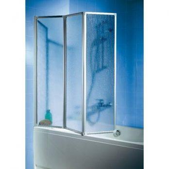 Badewannefaltwand, Faltwand duschabtrennung, duschabtrennung , 3 teilige Duschwand, Duschabtrennung Badewanne 3 teilig