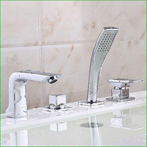 Bijjaladeva Wasserhahn Bad Wasserfall Mischbatterie Waschbecken