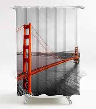 Duschvorhang,  180x180 Duschvorhang, Badevorhang, Badevorhang 180x180 , San Francisco duschvorhang, badevorhang san francisco, 180x180 duschvorhang san francisco