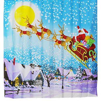 Duschvorhang,  180x180 Duschvorhang, Badevorhang, Badevorhang 180x180 , Weihnachten duschvorhang, badevorhang Weihnachten, 180x180 duschvorhang Weihnachten