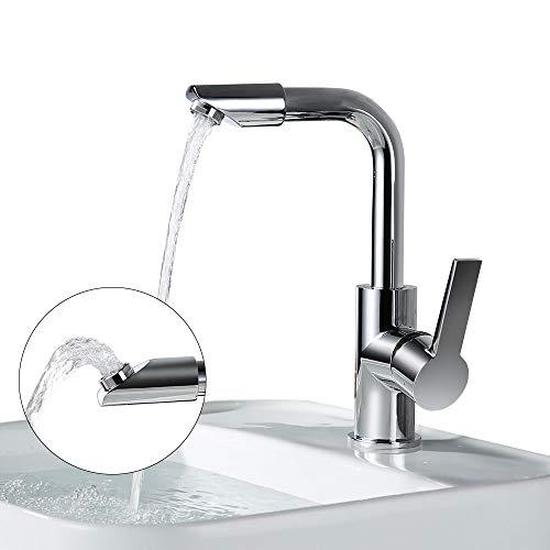 Bekannt Homelody 360° drehbar Auslauf Wasserhahn Bad Armatur Waschbecken YI37