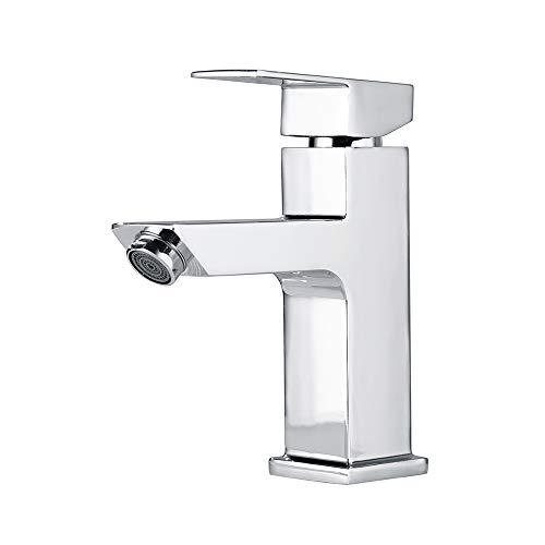 Homelody Waschbecken Armatur Bad Wasserhahn Waschtisch Mischbatterie  Badarmatur Waschbeckenamatur Einhebelmischer Waschtischmischer  Waschtischarmatur