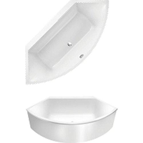 Villeroy & Boch Badewanne PF Spezielle Form Subway 140x140cm weiß (alpin),  UBA140SUB9PFV01
