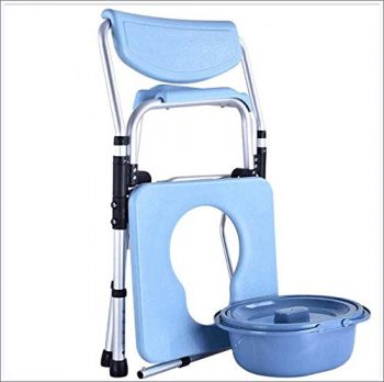 Toilettenstuhl , Duschstuhl, Nachtstuhl , Dusch- &  Toilettentuhl, faltbarer Nachtstuhl, faltbarer Toilettenstuhl